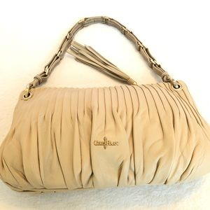 Cole Haan pleated shoulder bag